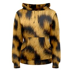 Leopard Print Women s Pullover Hoodie by NSGLOBALDESIGNS2