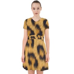 Leopard Print Adorable In Chiffon Dress by NSGLOBALDESIGNS2