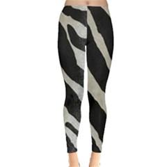 Zebra Print Leggings  by NSGLOBALDESIGNS2