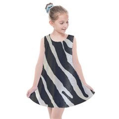 Zebra Print Kids  Summer Dress by NSGLOBALDESIGNS2