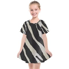 Zebra Print Kids  Smock Dress by NSGLOBALDESIGNS2