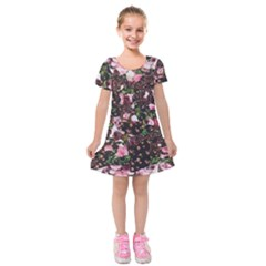Victoria s Secret One Kids  Short Sleeve Velvet Dress by NSGLOBALDESIGNS2