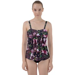 Victoria s Secret One Twist Front Tankini Set by NSGLOBALDESIGNS2