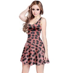 Pink Leopard Print Reversible Sleeveless Dress by chihuahuadresses