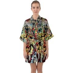Little Bird Quarter Sleeve Kimono Robe by bestdesignintheworld