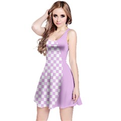 Pastel Mod Check Reversible Sleeveless Dress by chihuahuadresses