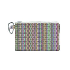 Psychedelic Background Wallpaper Canvas Cosmetic Bag (small)
