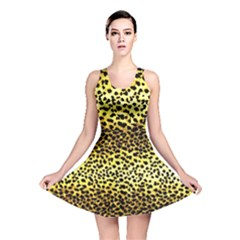 Leopard Version 2 Reversible Skater Dress by dressshop