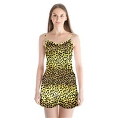 Leopard Version 2 Satin Pajamas Set by dressshop