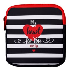 My Heart For You Only Mini Square Pouch by Wanni
