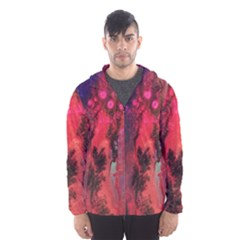 Desert Dreaming Hooded Windbreaker (men) by ArtByAng