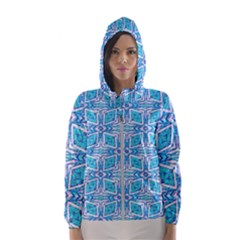 Geometric Doodle 1 Hooded Windbreaker (women) by dressshop