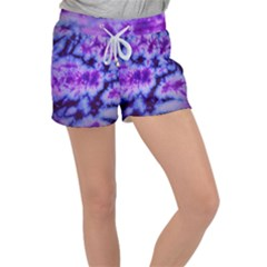 Tie Dye 1 Women s Velour Lounge Shorts by dressshop