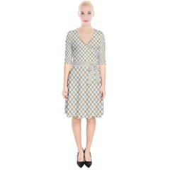 Plaid 2  Wrap Up Cocktail Dress by dressshop