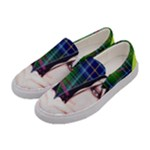 Designed By Revolution Child  Forever Punk   Women s Canvas Slip Ons