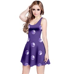 Purple Moon Reversible Sleeveless Dress by greenthanet