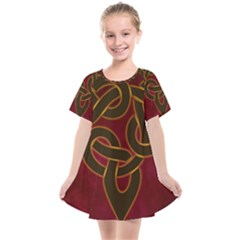 Beautiful Art Pattern Kids  Smock Dress by Nexatart