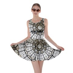 Pattern Abstract Structure Art Skater Dress