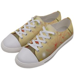 Flower Summer S Nature Plant Women s Low Top Canvas Sneakers by Nexatart