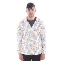 Dandelion Colors Nature Flower Hooded Windbreaker (men) by Nexatart