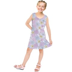 Dandelion Colors Flower Nature Kids  Tunic Dress
