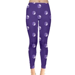 Purple Moon Leggings  by greenthanet