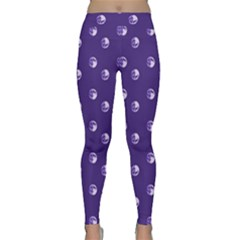 Purple Moon Classic Yoga Leggings by greenthanet