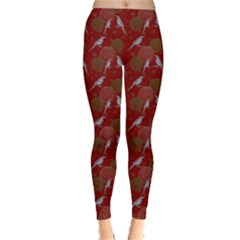 Magpies Leggings  by greenthanet