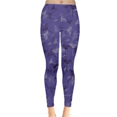 Purple Fennel Leggings  by greenthanet