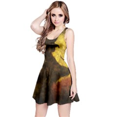 Witch On Moon Reversible Sleeveless Dress by bloomingvinedesign