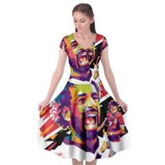 Ap,550x550,12x12,1,transparent,t U1 Cap Sleeve Wrap Front Dress by 2809604