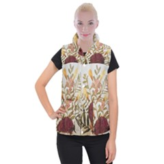 Holy Land Flowers 5 Women s Button Up Vest