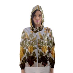 Holy Land Flowers 7 Hooded Windbreaker (women) by DeneWestUK