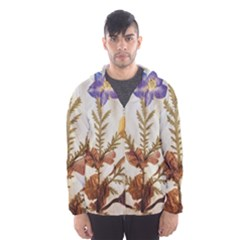 Holy Land Flowers 11 Hooded Windbreaker (men) by DeneWestUK
