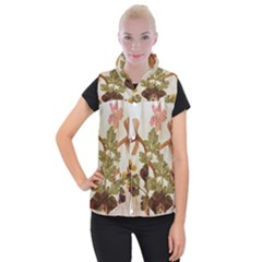 Holy Land Flowers 12 Women s Button Up Vest