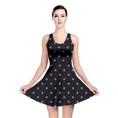 Polka Dot Zebra Print Reversible Skater Dress by chihuahuadresses