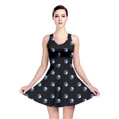 Blue Moon Reversible Skater Dress by chihuahuadresses