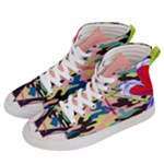 Designed By Revolution Child  Freak Incognito  Women s Hi-Top Skate Sneakers