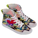 Designed By Revolution Child  Freak Incognito  Women s Hi-Top Skate Sneakers View3