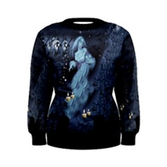 Grave Ghost Women s Sweatshirt by Wanni