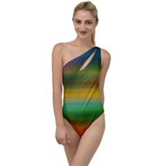 Art Blur Wallpaper Artistically To One Side Swimsuit by Sapixe