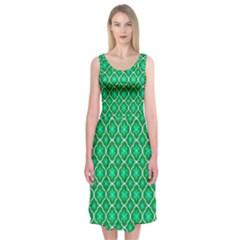Texture Background Template Rustic Midi Sleeveless Dress