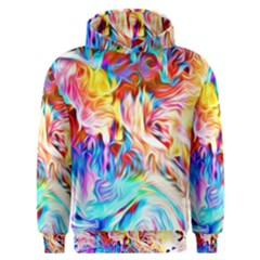 Background Drips Fluid Colorful Men s Overhead Hoodie by Sapixe