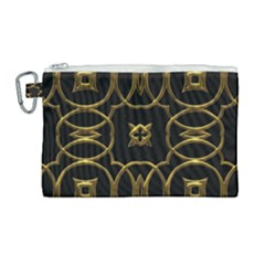 Seamless Pattern Abstract Canvas Cosmetic Bag (large) by Sapixe