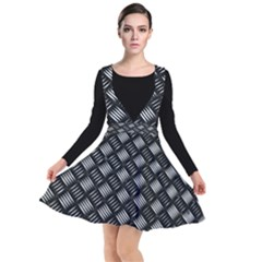 Abstract Of Metal Plate With Lines Other Dresses