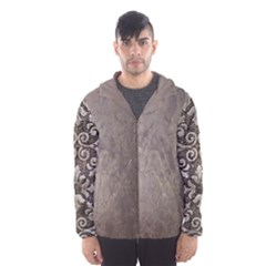Wordsworth Grey Mix Hooded Windbreaker (men) by DeneWestUK