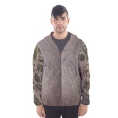 Wordsworth Grey Mix 2 Hooded Windbreaker (men) by DeneWestUK