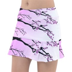 Essential Oils Flowers Nature Plant Tennis Skirt by Sapixe
