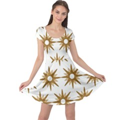 Seamless Repeating Tiling Tileable Cap Sleeve Dress