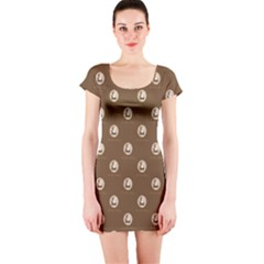 Anne Boleyn Short Sleeve Bodycon Dress by chihuahuadresses